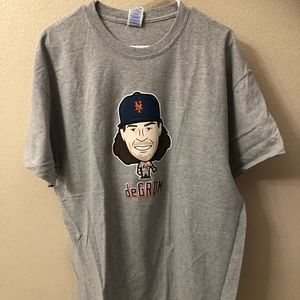 New MLB New York MENTS DeGrom T-Shirts